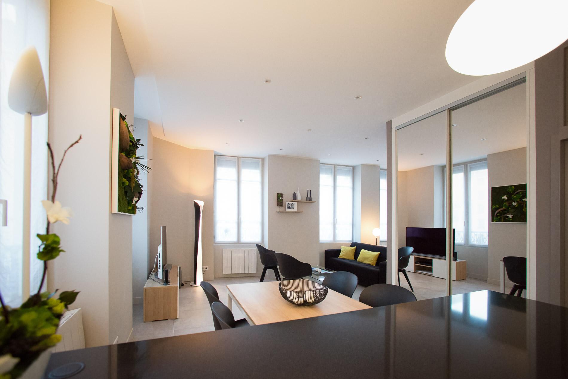 am%C3%A9nagement-et-d%C3%A9coration-appartement-lyon-2-entr%C3%A9e-salle-%C3%A0-manger-salon-d%C3%A9coratrice-dint%C3%A9rieurs-canap%C3%A9-mur-pierre-meuble-luminaires-agence-myriam-wozniak-1 Frais De Boutique De Meuble Conception