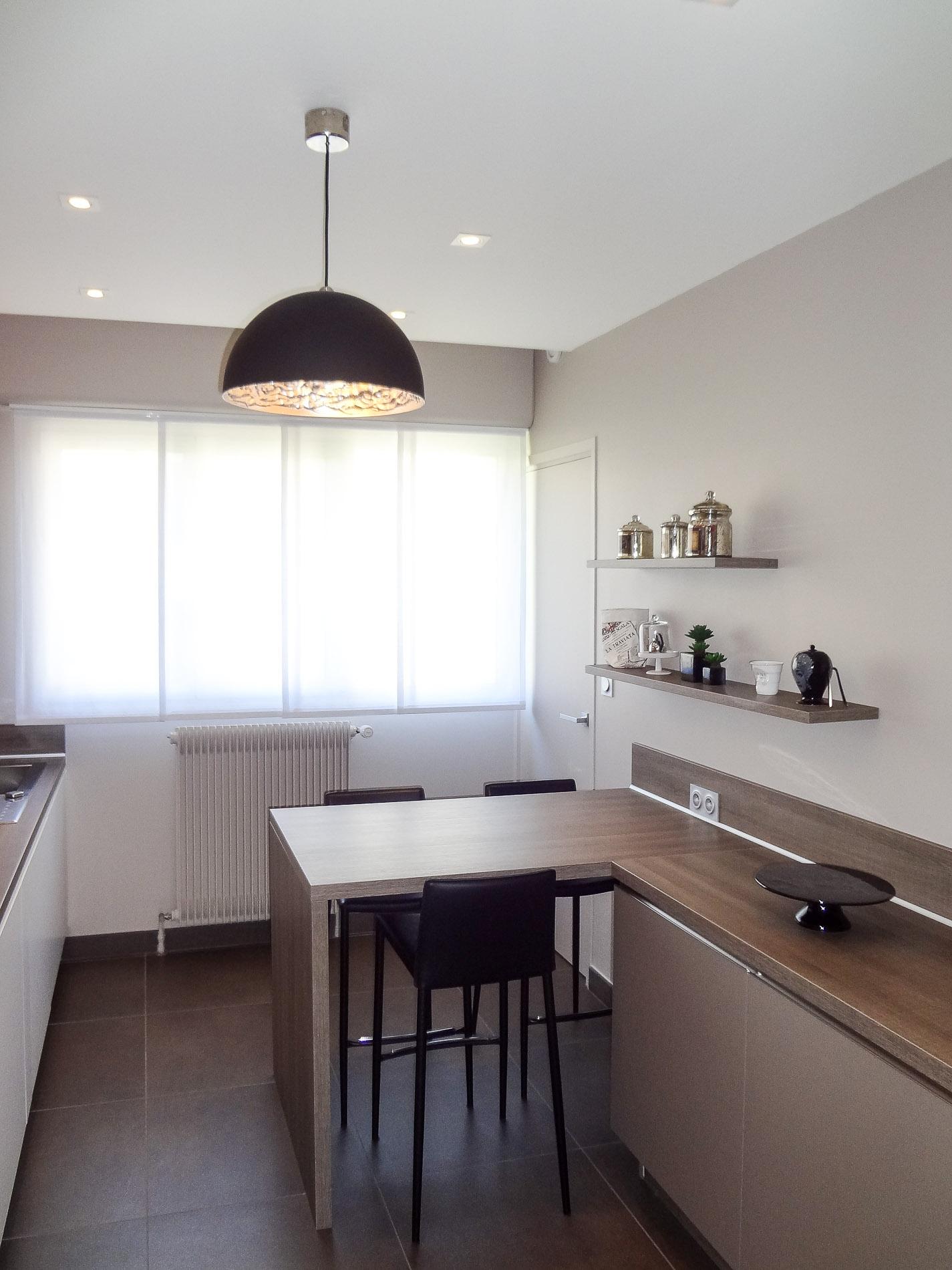 Agencement appartement lyon 6 architecture d 39 int rieurs for Cuisine moderne sans poignees