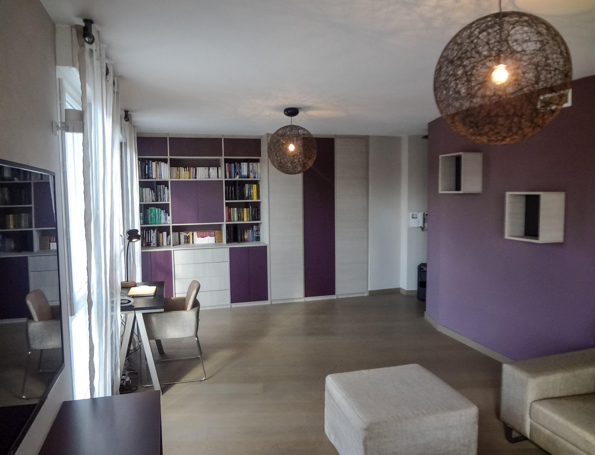 agencement et d coration appartement lyon 8 salon d coration d 39 int rieurs meuble sur mesure. Black Bedroom Furniture Sets. Home Design Ideas