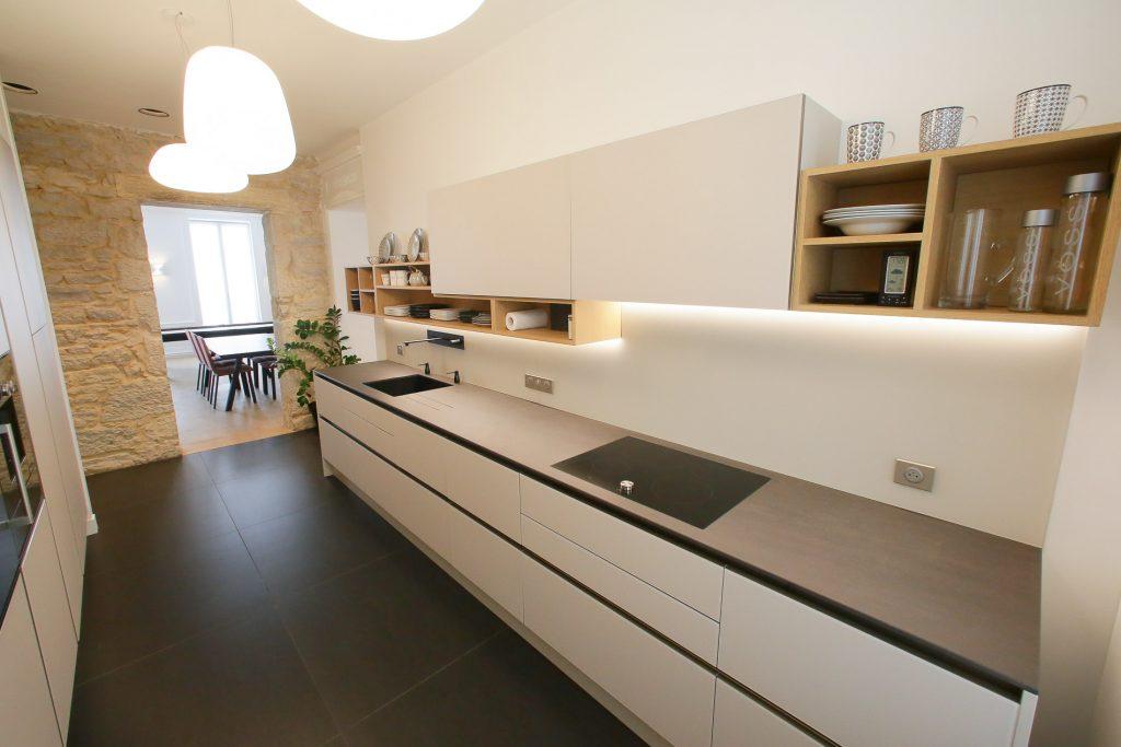 r novation appartement lyon 2 focus sur la cuisine myriam wozniak. Black Bedroom Furniture Sets. Home Design Ideas