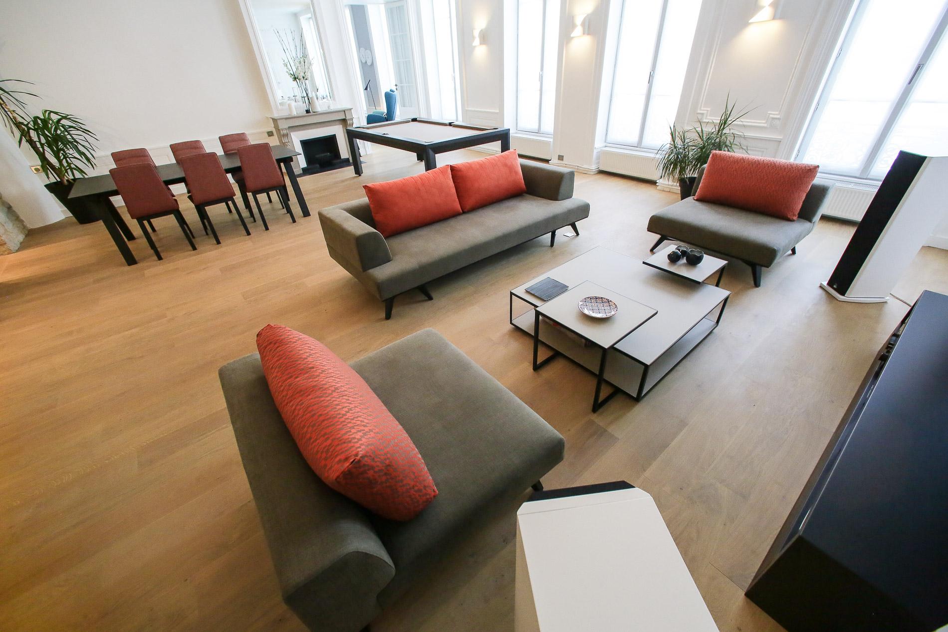 d 233 coratrice d int 233 rieurs appartement lyon 2 d 233 coration salle 224 manger salon design canap 233